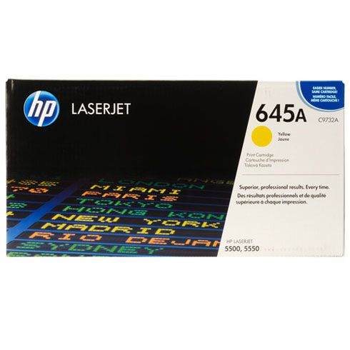 HP Yellow Clj-5500/5550 Toner Cartridge