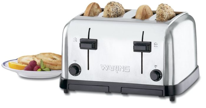 Waring 4-Compartment Pop-Up Toaster