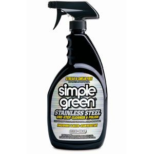 Cleaner Simple Green 32oz Stainless Steel Polish