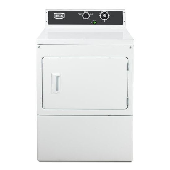 Maytag Electric Super-Capacity Dryer - White 220/50/1