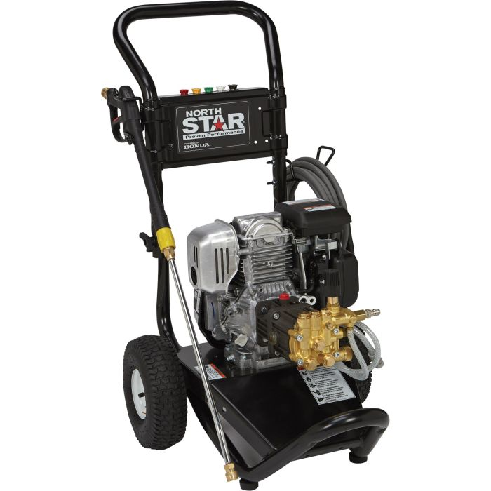 NORTHSTAR GAS PRESSURE WASHER 3000PSI, 2.5GPM