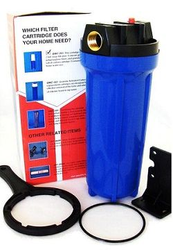 Quality Water 10 Filter Kit W/ 5 Micron Cartridge & Wrench