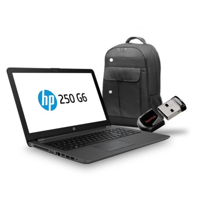 "HP ProBook 255 15.6"" G6 Backpack & 16GB USB Drive"