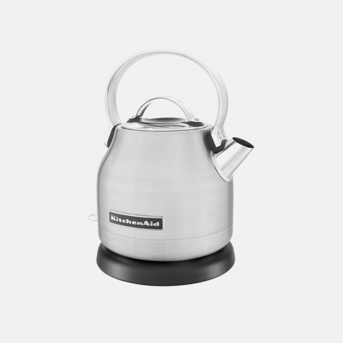 KETTLE, KITCHEN AID 1.25L ELECTRIC S/STEEL